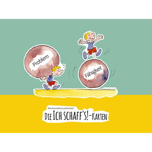 Ich Schaff´s-Karten (10er-Pack)